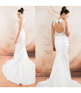 Detachable tulle mermaid super sexy wedding dress