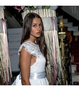 Romantiques deux couches robe de mariée