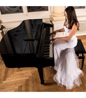 Rose del merletto 3D super sexy abito da sposa in rilievo