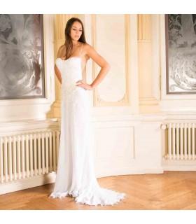 Hot sexy Rückenfreies Hochzeitskleid