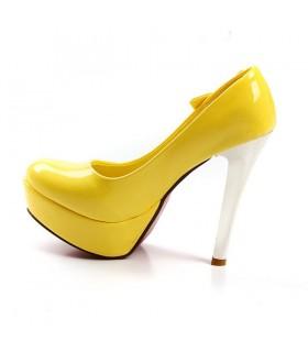 Scarpe moda stella gialla