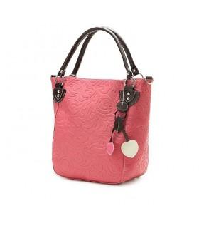 Sac fashion rose bonbon
