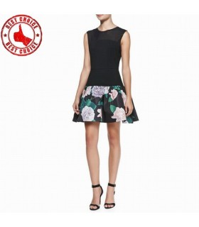 Flower modern cut new design dress