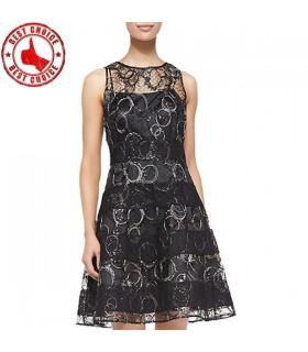 Ausschneiden Spitze Tutu Rock Kleid