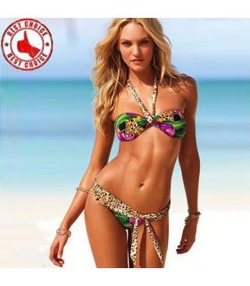 Sexy wild bikini swimsuit exotic print