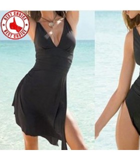 2 in 1 bathing suit and dress