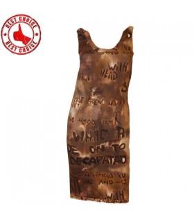 Jersey Kleid Anzahl drucken