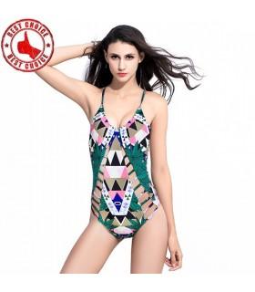 Full sexy swimsuit for women
