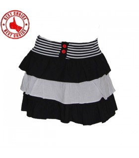 Mini ruffle fashion skirt