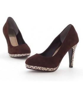 Chaussures talons léopard