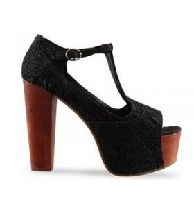 Nouveau style sandales en dentelle