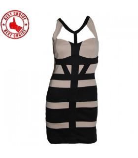 Cut out bandage super sexy dress