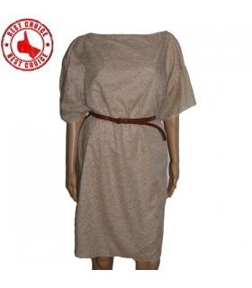 Robe d'été coton lin