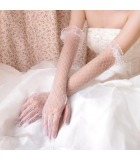 Bridal long gloves
