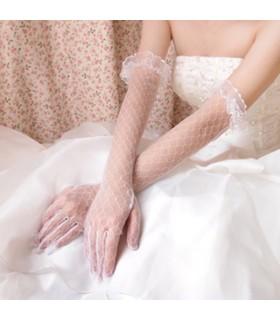 Longs gants de mariée