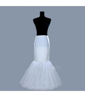 Jupe crinoline de sirène trompette pour robe de mariée