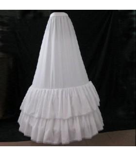 Un-forme couche peticoat robe robe de mariée