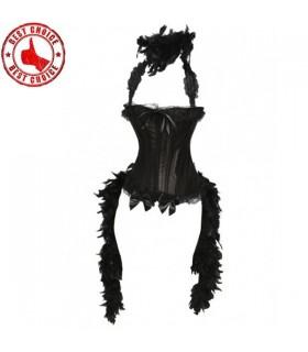 Peut peut plume corset embelli
