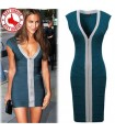 Bandage blue super sexy dress