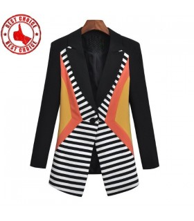 Ladies patchwork blazers