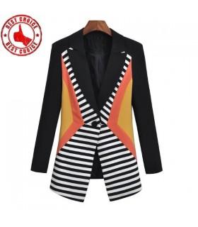 Onorevoli patchwork blazer