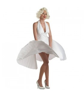 Marilyn Monroe robe costume blanc