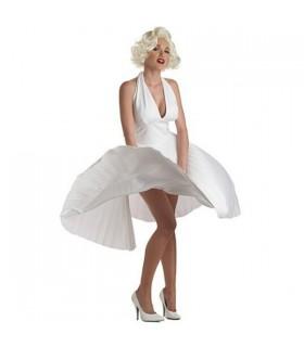 Marilyn Monroe weißes Kleid Kostüm
