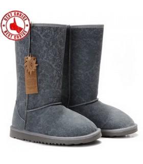 Longues bottes gris vintage UGG