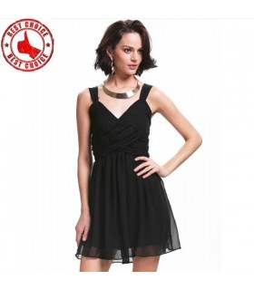 Novelty chiffon dress