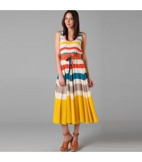 Fashion rainbow dress