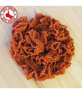 Elegante Ziegel rot Rüschenschal