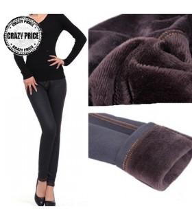Thermo leggings neri