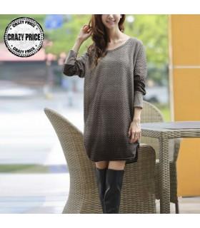 Stampato maglia vestito