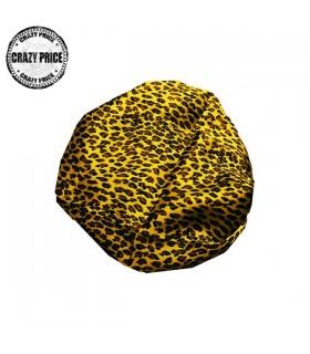 Satin Leoparden Schal