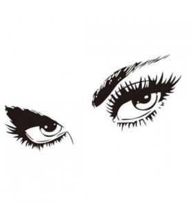 Sexy Augen Wandaufkleber