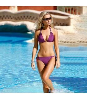 Lila sexy Bikini